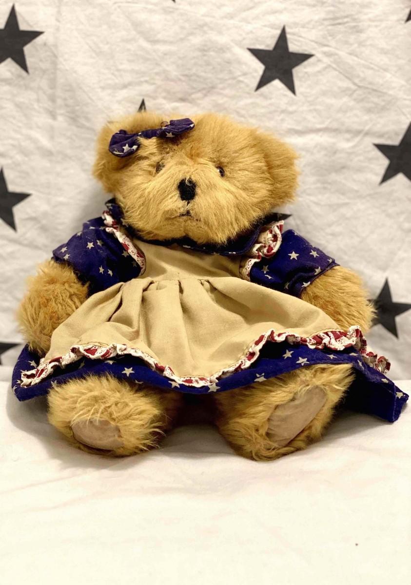 Brown Bear In Dress