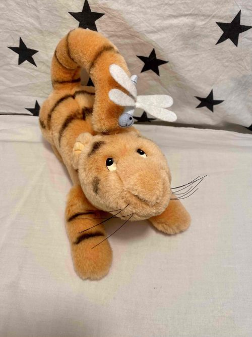 Tiger with a Dragonfly