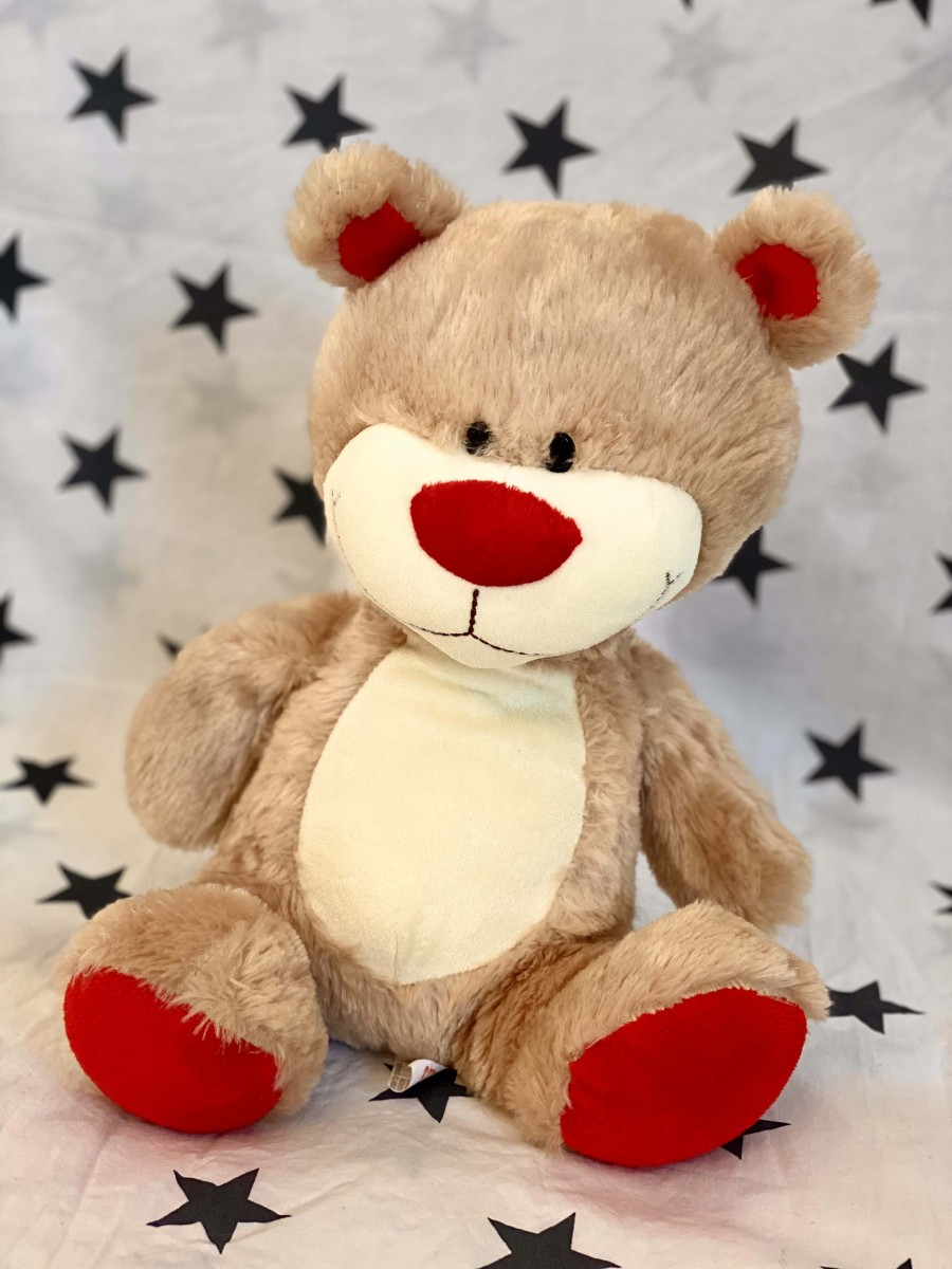 Red And Brown Bear