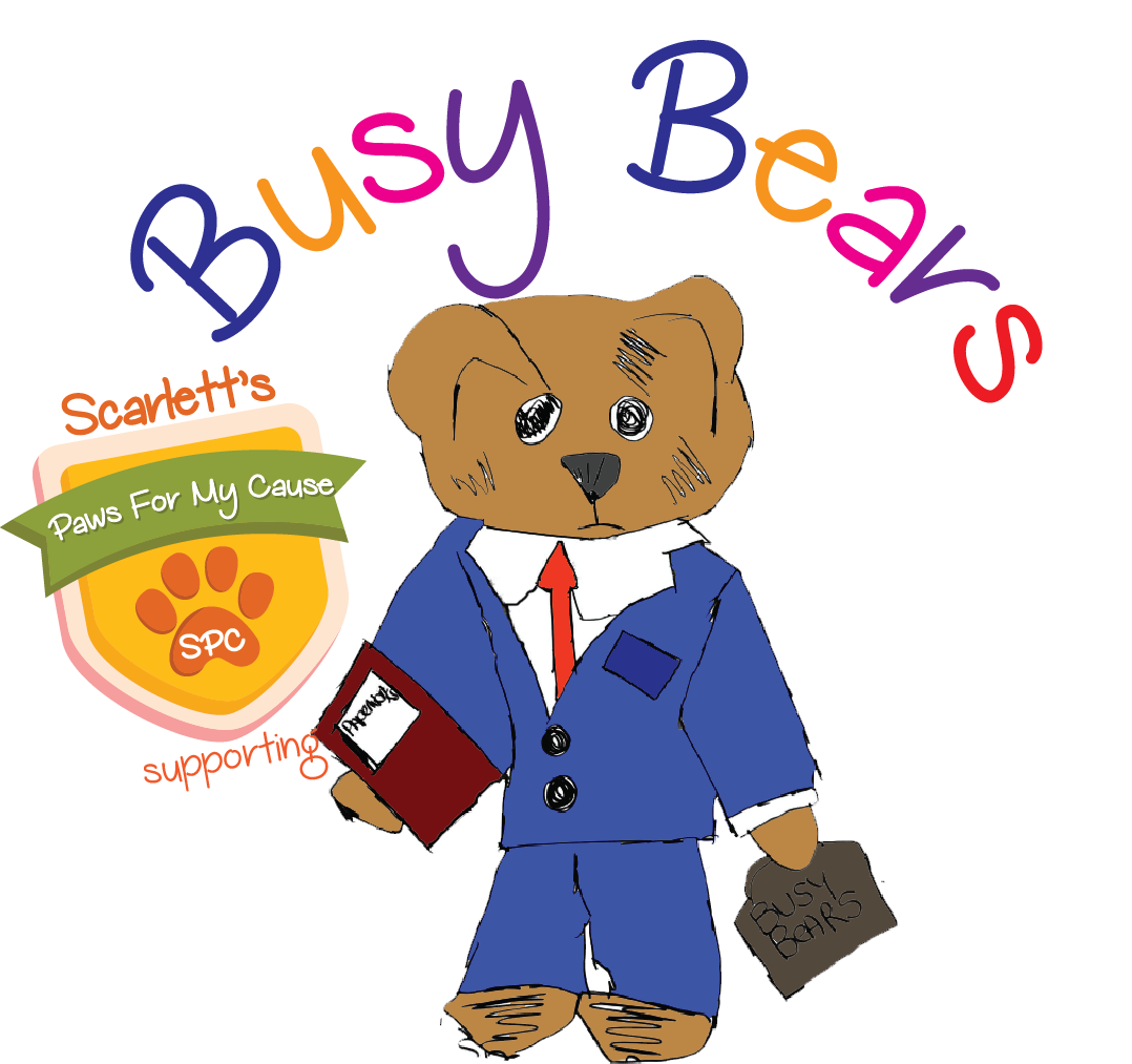 Busy Bears supported by Scarlett's Paws For My Cause